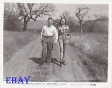 Mickey Rooney Terry Moore leggy VINTAGE Photo He's A Cockeyed Wonder