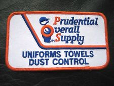PRUDENTIAL ~ OVERALL SUPPLY EMBROIDERED SEW ON PATCH UNIFORM RENTAL LAUNDRY NOS