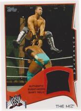 2014 TOPPS WWE THE MIZ AUTHENTIC SHIRT RELIC