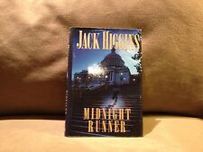 Midnight Runner by Jack Higgins, First Edition 2002, Very Good Condition