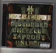 MUSIC AS A WEAPON II - COMPILATION (CD)