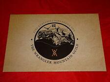 "JEEP wrangler ""Mountain"" spécial modèle prospectus de 2012"