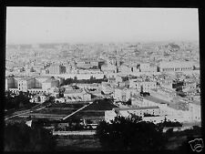 ROSCH Glass Magic lantern slide VIEW OF ST PETERS ROME C1900 ITALY ROMA