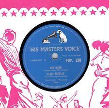 1957 RARER  ELVIS PRESLEY  78  TOO MUCH / PLAYIN' FOR KEEPS  UK HMV POP 330 E-
