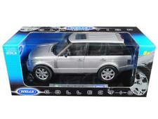 2003 Land Rover Range Rover Silver 1/18 Diecast Model Car by Welly