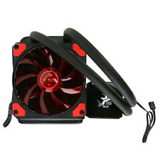 Led Liquid Cpu Cooler Water Cooling System Radiator 120mm with Fan for Inter Amd