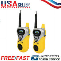 Portable 2 Pack  Walkie Talkies Twin Radio LCD Screen For Kids Gift Toy Hot US