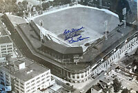 Bob Friend - LeRoy Face - Vern Law SIGNED AUTOGRAPHED 15x10 FORBES FIELD wCOA