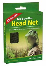 NEW - Coghlan's No-See-Um Head Net - Mosquito Protection - 0160 - FREE SHIPPING