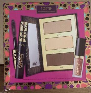 TARTE Tarteist Pro Glow To Go Highlight & Contour Palette Bronzer Set NIB