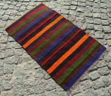 Vintage Kilim Rug 27'' X 44 Hand Woven Kilim Anatolian Nomads Kilim Area Rug