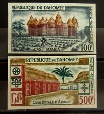 DAHOMEY Stamps Set IMPERFORATED - Mint NG - VF - r106e9153