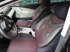 Schonbezüge Autositzbezüge für Opel Astra schwarz-rot V559382 Vordersitze