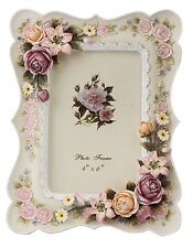Europe Retro Style Home Photo Frame Resin With 3D Followers Decoration