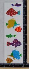 Mrs Grossman SPARKLE FISH Stickers TROPICAL FISH AQUARIUM