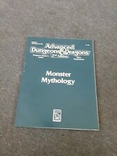 Ad&D 2nd Edition Monster Mythology Dungeons & Dragons 2128