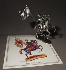 6938:MHSP,Zinnfigur,Mameluk der Wache zu Pferd,um 1810,unbemalt,aus Sammlung.