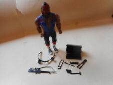 Original 1983 The A Team Mr T Ba Baracus Action Figure & Accessories tool box