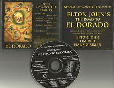 ELTON JOHN w/ HANS ZIMMER Rare ADVNCE 4TRK Sampler PROMO Radio DJ CD 2004 USA