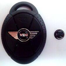 2 x Mini Cooper Remote Key Fob Epoxy Badge Emblem Sticker