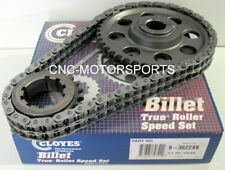 CLOYES 9-3622X9 RACE BILLET TRUE ROLLER TIMING CHAIN KIT 9 KEYWAY BB FORD 460