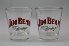 "Set of 2 ""Jim Beam"" Whiskey Racing Shot Glass"
