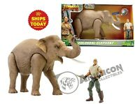 Jumanji COLOSSAL ELEPHANT Lanard Animal Action Figure NEW NIB WILD Planet 2019