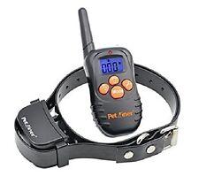 PET Trainer RF ADDESTRAMENTO DEL CANE COLLARE RICARICABILE e IMPERMEABILE Remote Collare per Cani