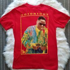 Brooklyn Mint Notorious BIG Red T Shirt Biggie Smalls New York Hip Hop Sz Med