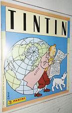 PANINI TINTIN ALBUM VIDE NEUF LEER EMPTY 1989 HERGE LOMBARD MILOU HADDOCK