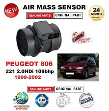FOR PEUGEOT 806 221 2.0HDi 109bhp 1999-2002 AIR MASS SENSOR 5PIN with HOUSING