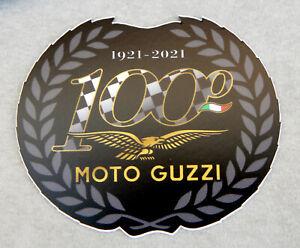 Adesivo Moto Guzzi Centenario 100 anni - 1921 2021 Mandello del Lario