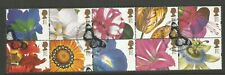 GB 1997 Greeting Stamp 10th Series from Booklet of Flower Paintings SG1955a Used
