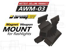 New Armytek AWM-03 Flashlight Magnet Weapon Gun Mount Torch