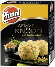 PFANNI - German Potatoes specialties - Dumplings with roasted onions 6 pcs Panni