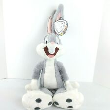 Stuffed Animal Bugs Bunny Rabbit Looney Tunes Toy Plush Gift Kids Toddler 19""