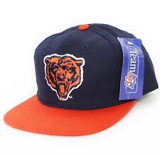 Vintage 90s Era Chicago Bears Snapback Hat cap bulls NEW