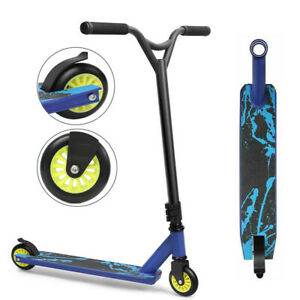 Outdoor Stunt Scooter Kids Adult Kick Push Street City Trick Scooter 360 Degree