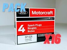 Set of 16 Genuine OEM Ford Motorcraft Double Platinum Spark Plugs SP526 CYFS12FP