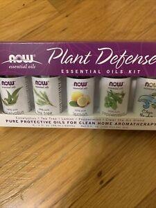 Now Essential Oil Plant Defense 5-@1fl oz bottles