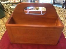 Proctor & Gamble Caddy Tote Wood Employee Gift 2015
