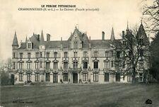 Carte CHARBONNIERES Eure et Loir Le château Façade Principale