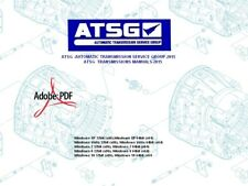 ATSG -AUTOMATIC TRANSMISSION SERVICE GROUP 2015-TRANSMISSIONS MANUALS-2015