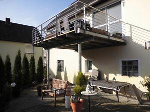 Stahlbalkon Balkonbausatz Vorstellbalkon Anbaubalkon 4m x 3m