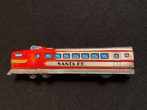 VINTAGE SANTA FE FREIGHT TRAIN ENGINE TOY 1963