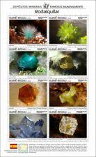 More details for guinea-bissau minerals stamps 2020 mnh rodalquilar world famous deposits 8v m/s
