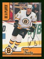 CAM NEELY 99-00 ITG BE A PLAYER AUTOGRAPH 1999-00 AH-2 23526