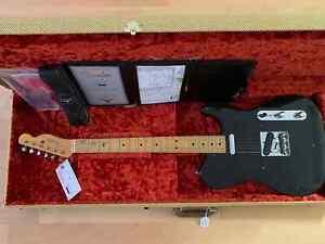 Fender Custom Shop '51 Nocaster 2017 Black on Black - Journeyman Relic