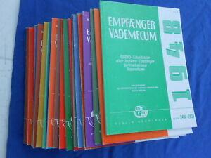 Komplettes  Set   ,,EMPFÄNGER VADE- MECUM ,, 30  Ausgaben - Nachdruck/ Originale