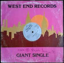 """Stone - Time - US West End Records Maxi Single 12"""" 1981 - 33rpm - WES 22139"""